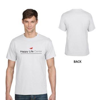 Gildan DryBlend Classic Fit Adult T-Shirt, 5.6 oz.- White - Apparel