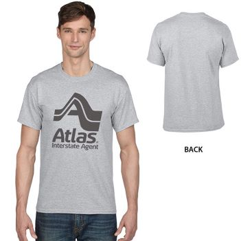 Gildan DryBlend Classic Fit Adult T-Shirt, 5.6 oz.- Sport Gray  - Apparel
