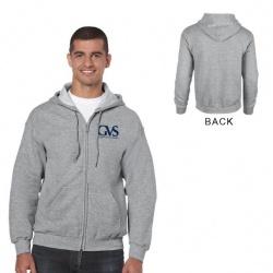 Gildan Heavy Blend Classic Fit Adult Full Zip Hooded Sweatshirt -8 oz.