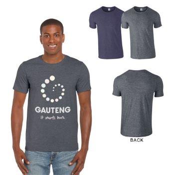 Gildan Softstyle Semi-fitted Adult T-Shirt, 4.5 oz. -Heathers - Apparel
