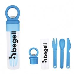 To-Go Utensils with Bottle Opener