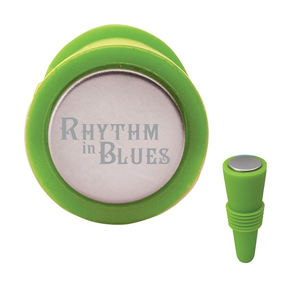 Ribbed Silicone Wine Stopper - Kitchen & Home Items