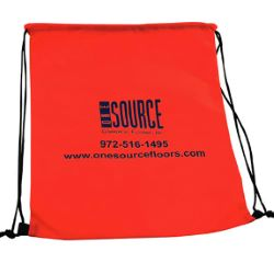 13-1/4 x 17 Non-Woven Drawstring Backpack