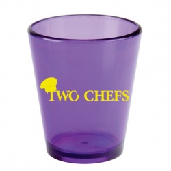 No Mess 2oz. Acrylic Shot Glass