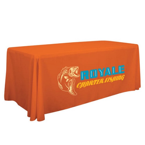 6ft Full Color Table Throw - Trade-Show-Essentials