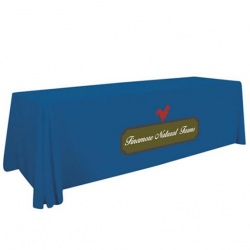 8ft Standard Full Color Table Throw