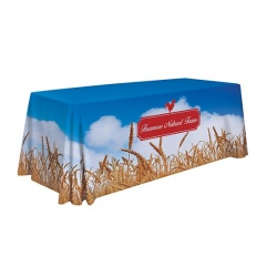 6ft Dye Sublimated Table Throw