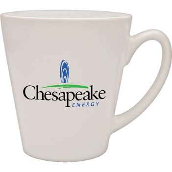 12 oz. Ceramic Cafe Mug - Mugs Drinkware