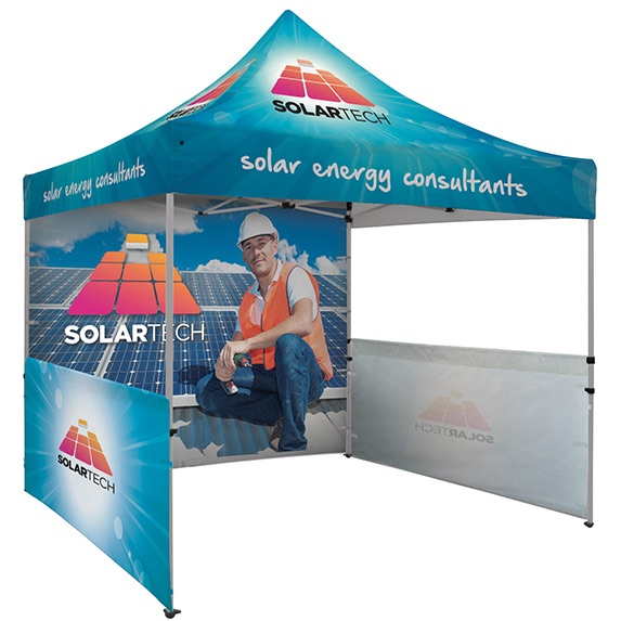 10' x 10' Dye Sublimated Tent Kit - Trade-Show-Essentials