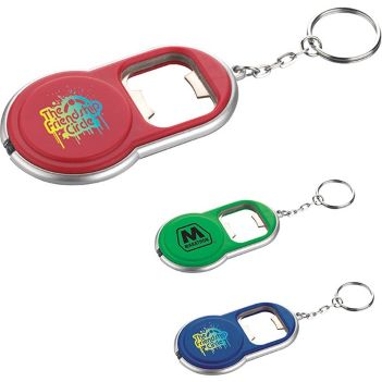 Round Key Light/Bottle Opener - Travel Accessories & Luggage