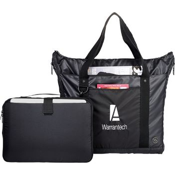"""elleven 15"""" Computer Travel Tote with Garment Bag - Bags"""