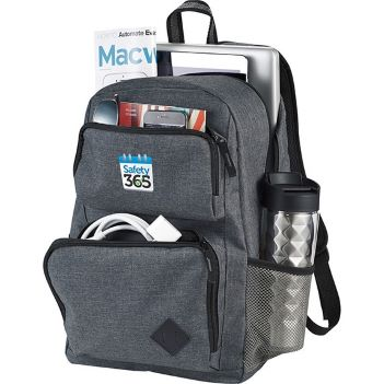 """Graphite Deluxe 15"""" Computer Backpack - Bags"""