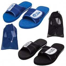 Flip Flops with Adjustable Top