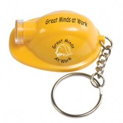 Hard Hat Keytag with Light