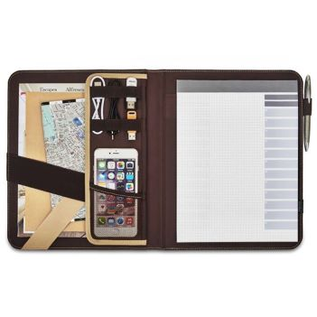 Tech Smart Leather Writing Pad - Padfolios, Journals & Jotters