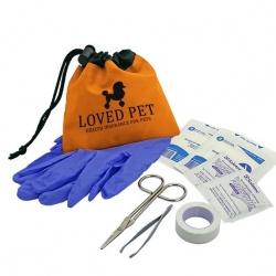 Pet Care Kit in Cinch Tote