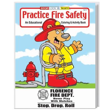 Fire Safety Coloring and Activity Book - Puzzles, Toys & Games