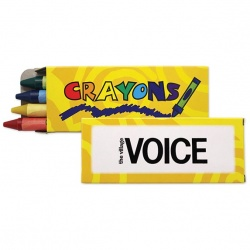 4 Pack Standard Crayons