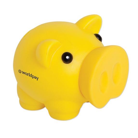 PVC Large Nose Piggy Bank - Puzzles, Toys & Games