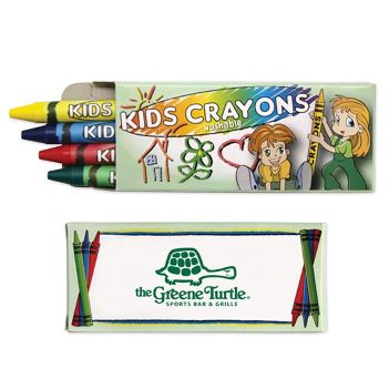 4 Pack Washable Crayons - Puzzles, Toys & Games