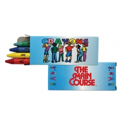 4 Pack Quality Crayons