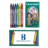 6 Pack Kids Crayons