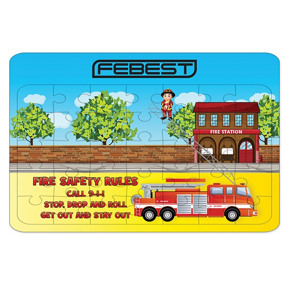 Fire Dept Jigsaw Puzzle - Puzzles, Toys & Games