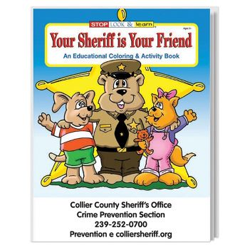 Your Sheriff Is Your Friend Coloring Book - Puzzles, Toys & Games