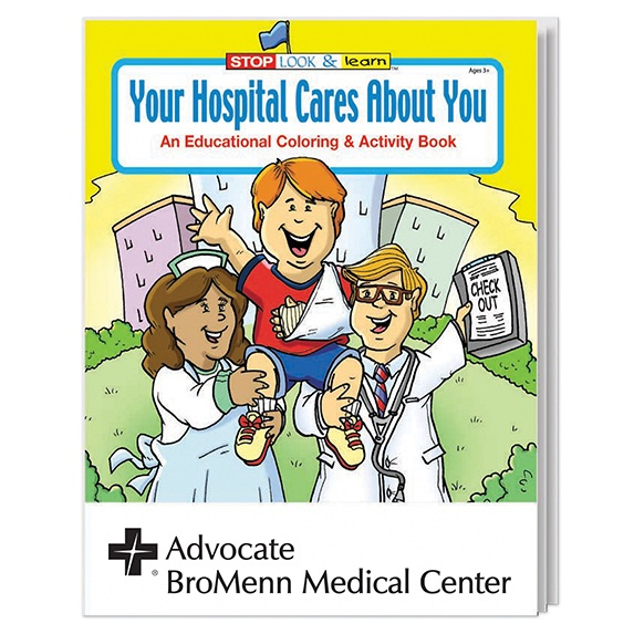 Your Hospital Cares Coloring Book - Puzzles, Toys & Games