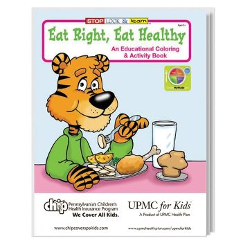 Eat Right Eat Healthy Coloring Book - Puzzles, Toys & Games