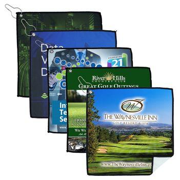 Full Color Suede Golf Towel - Outdoor Sports Survival