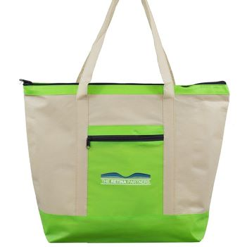 Oversize, Zippered Non-Woven Boat Bag - Bags