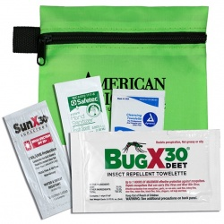 Insect Repellent Kit in Zipper Pouch