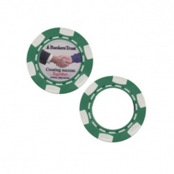 Standard Poker Chip 1 1/2 and 1/8 Thick