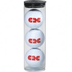 3 Pro-Flite Golf Balls in Tube