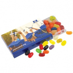 Jelly Bellies in a CandElope