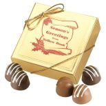 Truffle Gift Box with 4 Chocolate Truffles