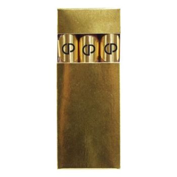 Foil Imprinted Chocolate Cigars in a Gift Box - Food, Candy & Drink