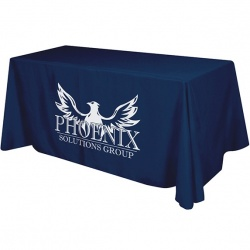 4 Sided Polyester Table Banner