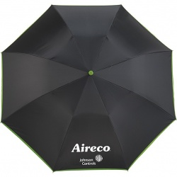42 Auto Open Folding Umbrella with  Contrasting Color Lining