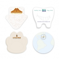 Bic Custom Shape 3 x 3, 50 Sheet Sticky Note Pad
