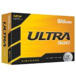 Wilson Ultra 500 Distance Golf Ball Std Serv