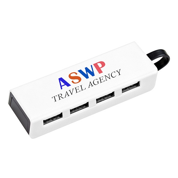 4-Port USB Hub with Phone Stand - Technology
