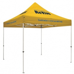 Standard 10' X 10' Event Tent w/Full Color on 8 Locations