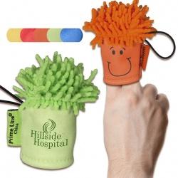 MopTopper Finger Puppet Screen Cleaner