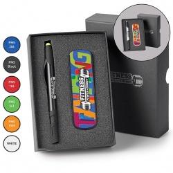 Power Bank/Pen/Stylus/Highlighter Gift Set