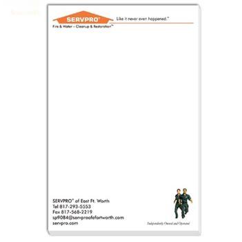 "Sticky Note Pad, 4"" x 6"", 50 Sheets - Awards Motivation Gifts"