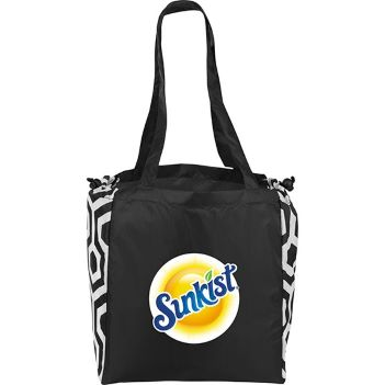 Soft Feel Tote with Drawstring Sides - Bags