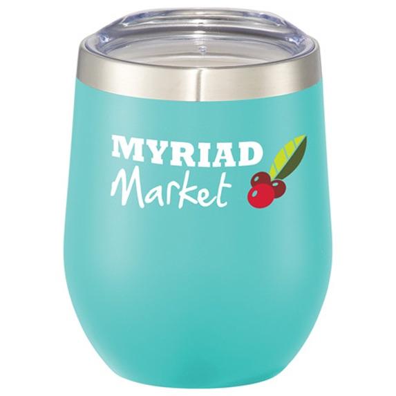 12 Oz. Corzo Copper Vacuum Insulated Cup  - Mugs Drinkware