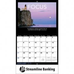 2018 Motivations Wall Calendar - Stapled